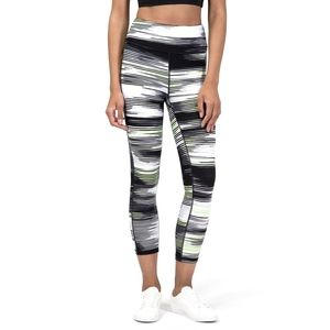 NEW DKNY High-Waist Crop Printed Leggings
